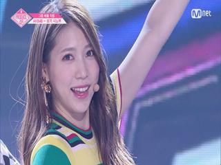 [단독/직캠] 일대일아이컨택ㅣ모기 시노부 - AKB48 ♬하이텐션_1조 @그룹 배틀