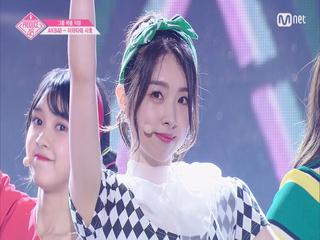 [단독/직캠] 일대일아이컨택ㅣ이와타테 사호 - AKB48 ♬하이텐션_1조 @그룹 배틀