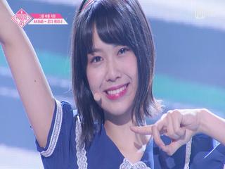 [단독/직캠] 일대일아이컨택ㅣ오다 에리나 - AKB48 ♬하이텐션_2조 @그룹 배틀