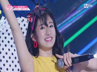 [단독/직캠] 일대일아이컨택ㅣ타케우치 미유 - AKB48 ♬하이텐션_2조 @그룹 배틀
