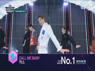 EXO! 4월 마지막주 1위