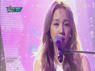 '역주행' 백아연! 신곡 발표 3주만에 선보이는 무대