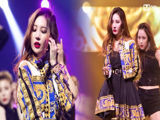 '선미'의 'Dance Break + 가시나'무대 ♪ M COUNTDOWN in TAIPEI