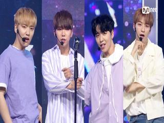 ′최초공개′ 청량 소년들 ′백퍼센트′의 ′Grand Bleu′ 무대