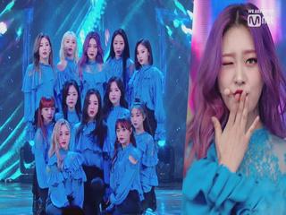 칼군무 걸그룹 '이달의 소녀'의 'Butterfly' 무대