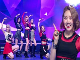 상큼 소녀들 '퍼플백'의 'Crystal Ball' 무대