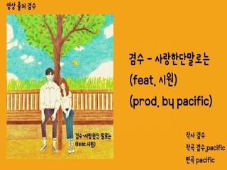 사랑한단 말로는 (Feat. 시원) (Prod. by Pacific)
