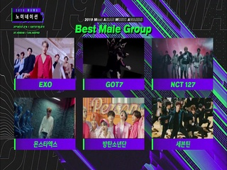 [2019 MAMA] Best Female/Male Group Nominees