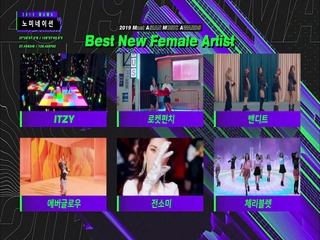 [2019 MAMA] Best New Male/Female Artist Nominees