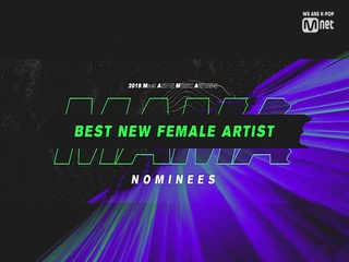 [2019 MAMA] Best New Female Artist Nominees