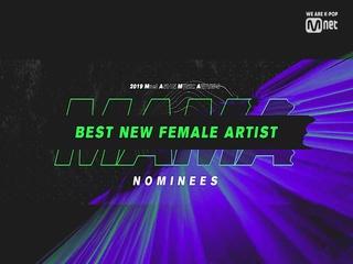 [2019 MAMA] Best New Female Artist Nominees