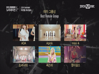 [2015 MAMA] Best Group Nominees