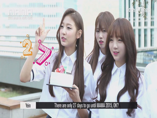 [2015 MAMA STAR COUNTDOWN D-27 by LOVELYZ]