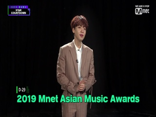 [2019 MAMA] Star Countdown D-29 by #JEONGSEWOON