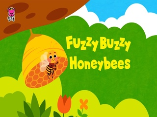 Fuzzy Buzzy Honeybees