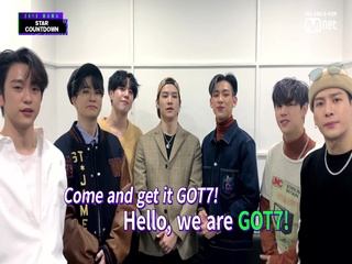 [2019 MAMA] Star Countdown D-7 by #GOT7