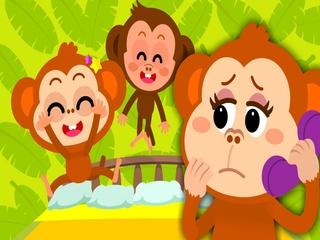 Five Little Monkeys Jumping On The Bed (다섯 꼬마 원숭이)