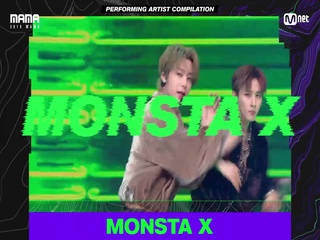 [2019 MAMA] Performing Artist Compilation #MONSTAX