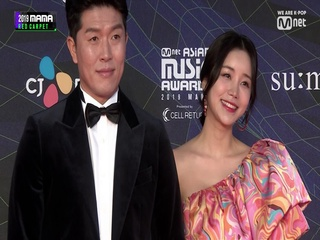 [2019 MAMA] Red Carpet with Kim Byung Hyun(김병현) & Yoon Jin Yi(윤진이)