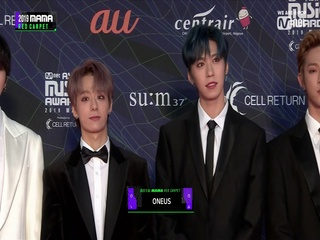 [2019 MAMA] Red Carpet with ONEUS(원어스)