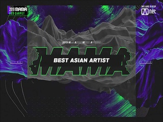 [2019 MAMA] Best Asian Artist