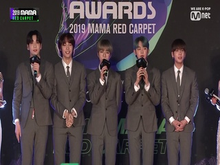 [2019 MAMA] Red Carpet with TOMORROW X TOGETHER(투모로우바이투게더)