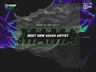 [2019 MAMA] Best New Asian Artist