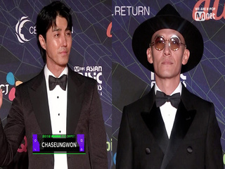 [2019 MAMA] Red Carpet with Chang Chen(장첸) / Cha Seung Won(차승원)