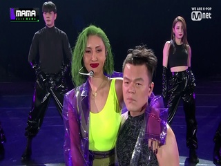 [2019 MAMA] J.Y. Park(박진영) & HWASA(화사)_Don't Leave Me(날 떠나지마)