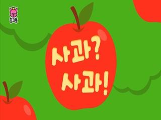 사과? 사과!