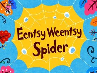 Eentsy Weentsy Spider