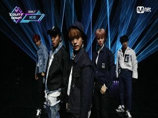 'DEBUT' 티오피 새싹돌 'MCND'의 'TOP GANG' 무대