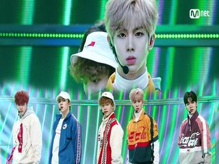 신인 보이그룹 'MCND'의 'TOP GANG' 무대