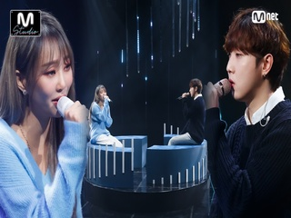 'STUDIO M' 파워 보컬 '효린'의 '말 없이 안아줘(Feat. 크루셜스타)' 무대