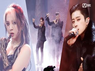 '최초 공개' 강렬 뭄바톤 리듬 'KARD'의 'RED MOON' 무대