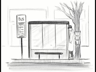 버스뒷자리