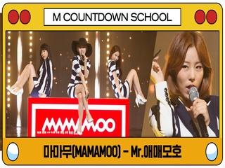 [엠카 스쿨 특집] 마마무(MAMAMOO) - Mr.애매모호