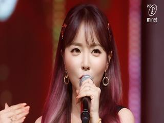 'COMEBACK' 정열의 트로트 '홍진영'의 '사랑은 꽃잎처럼' 무대