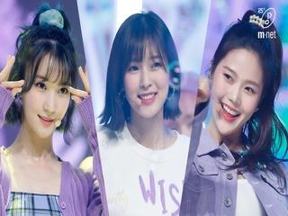 '최초 공개' 힙한 요정돌 '오마이걸'의 '살짝 설렜어(Nonstop)' 무대