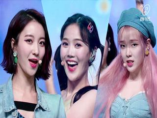 ′1위′ 출구 없는 매력! '오마이걸'의 '살짝 설렜어' 무대