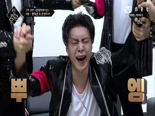 [6회] ′↗쏴리질러어엇!!↗′ 펜타곤X온앤오프, 두 팀 모두 첫 1위 달성♥