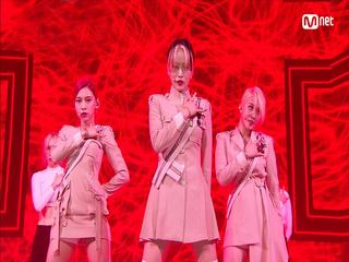 강렬 퍼포먼스 '3YE(써드아이)'의 'YESSIR' 무대