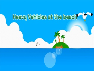Strong Heavy Vehicles at the beach