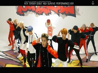 NTX TEASER DEBUT NO.2 'SURVIVE (서바이브)' (Performance Ver.)