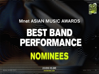 [2020 MAMA Nominees] Best Band Performance