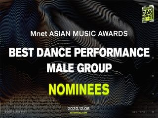 [2020 MAMA Nominees] Best Dance Performance Male Group