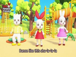 Hangeul Dance song - Korean Alphabet Song