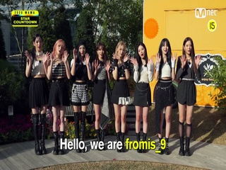 [2020 MAMA] Star Countdown D-24 by fromis_9
