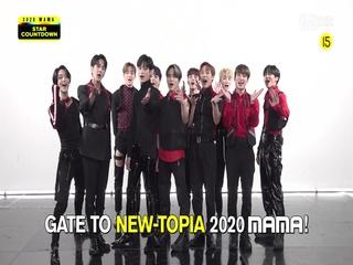 [2020 MAMA] Star Countdown D-20 by THE BOYZ
