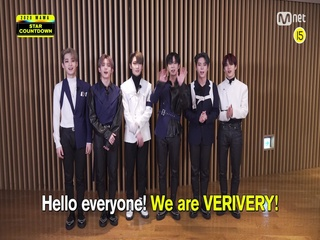 [2020 MAMA] Star Countdown D-19 by VERIVERY